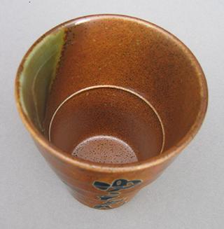 焼酎カップ:上から見た画像